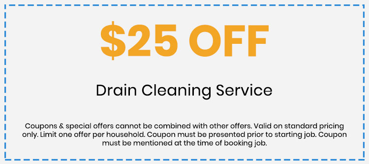 Discount on Drain Cleaning Service