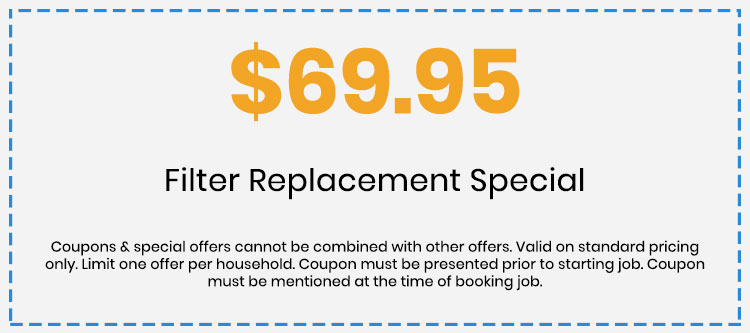 Discount on Filter Replacement