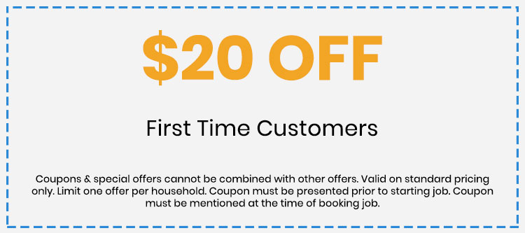 Coupon for First time customers