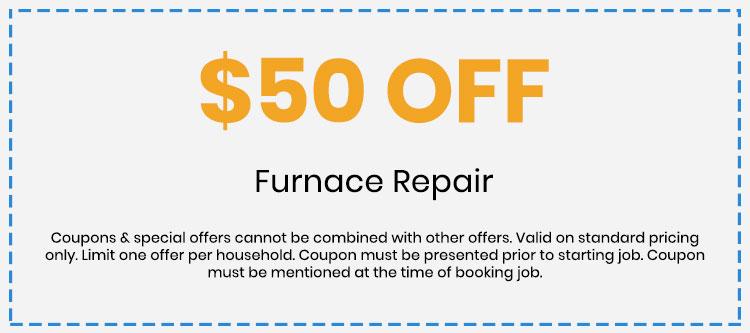 Discount on Furnace Repair