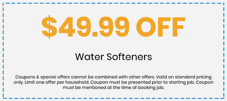 Discount on Water Softeners